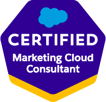 Certified Marketing Cloud Consultant
